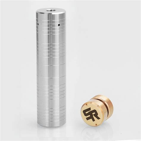 Jual Mechanical Mod Authentic by Authentic Shenray Silver Edge Silver 18650 Hybrid