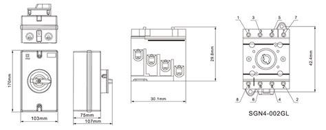 4 pole isolator switch wiring diagram efcaviation