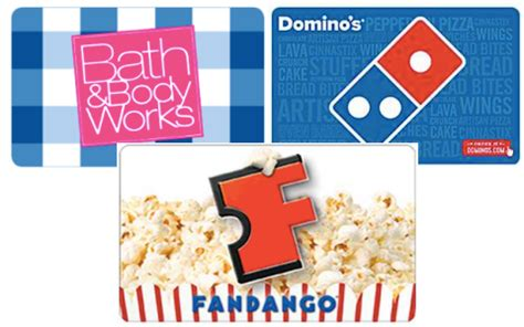 Do Fandango Gift Cards Expire - kroger affiliates multiple gift card discount ecoupons available bath body works