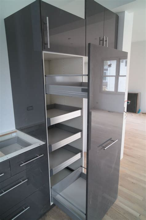 roll out pantry ikea decorate ikea pull out pantry in your kitchen and say