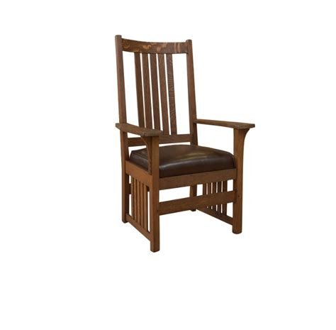 Stickley Armchair by L J G Stickley Armchair Past