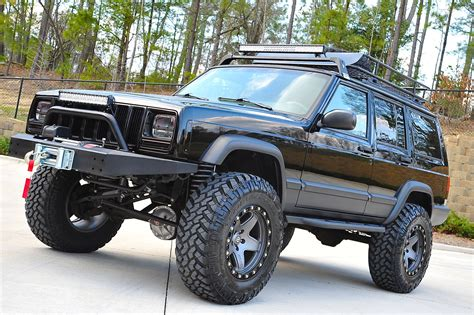 built jeep cherokee davis autosports fully built stage 4 lifted cherokee
