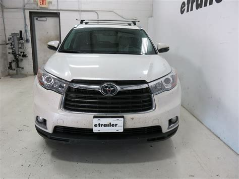 Roof Rack For Toyota Highlander 2013 by Thule Roof Rack For 2013 Toyota Highlander Etrailer