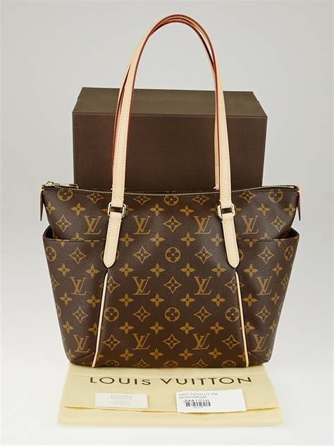 louis vuitton monogram canvas totally pm nm bag yoogis