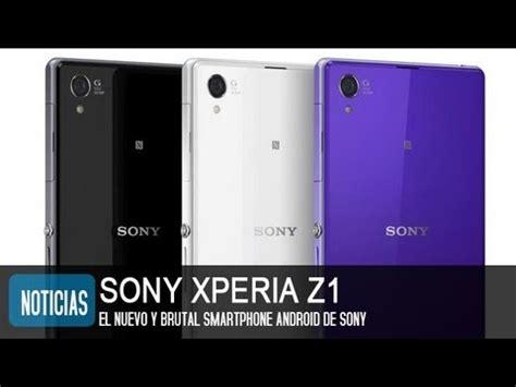 imagenes para celular sony xperia sony xperia z1 precio y caracter 237 sticas youtube