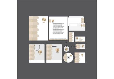 modern company profile template download free vector art