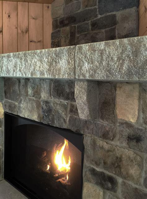 Acadia Fireplace  England Veneer Stone
