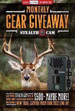 Free Hunting Gear Giveaway - stealth cam free hunting gear giveaway hunting news bowhunting com