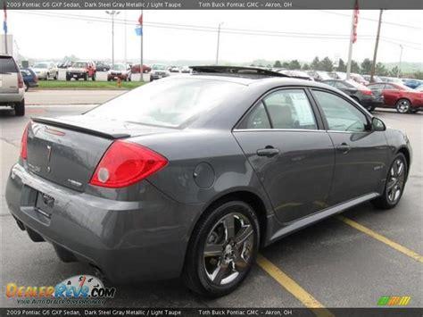pontiac g6 gxp sedan 2009 pontiac g6 gxp sedan steel gray metallic light