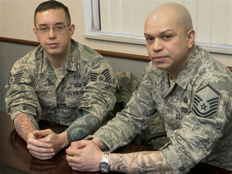 air force relaxes policy on tattoos body art