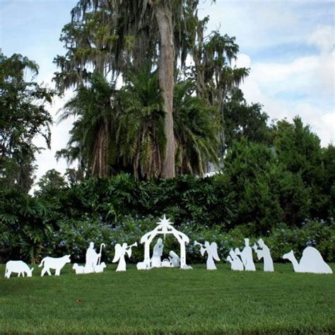 the best nativity scene yard displays nativity scene