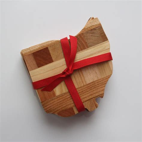 woodworking ohio wood ohio coasters wholly craft