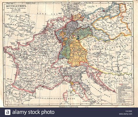 map of central europe cartography maps map of central europe at the beginning