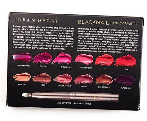 Decay Vice Palette decay vice lipstick palette overview