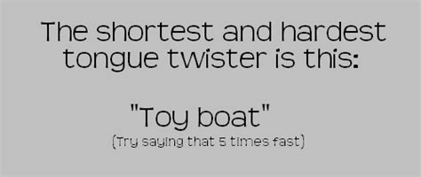 toy boat tongue twister tongue twister the meta picture