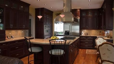 Cherry wood kitchen cabinets kitchen cabinets photo gallery