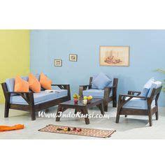 Sofa Ruang Tamu Kayu Jati wooden sofa set 3 2