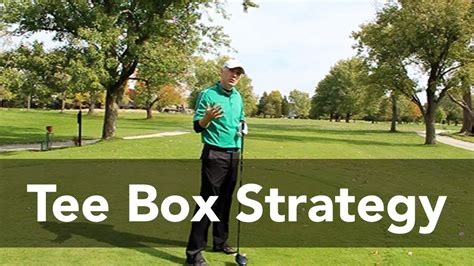 golf swing box course management tee box strategy golf instruction my