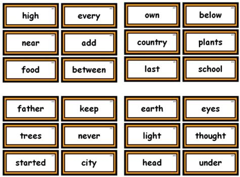 fry instant phrases printable flash cards fry 1000 instant words for teaching reading free flash