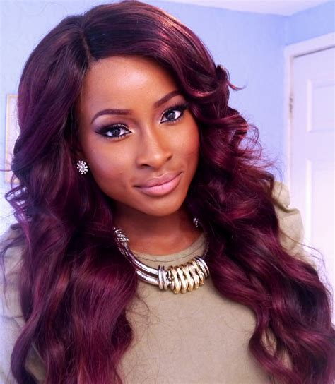 Hairstyles With Color by Weave Hairstyles With Color Hairstyles Ideas