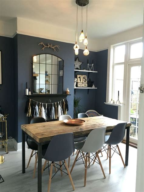 dark blue dining room 90047 best images about antique with modern on pinterest