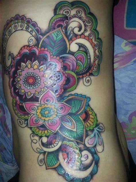 paisley pattern foot tattoo 38 beautiful paisley pattern tattoos