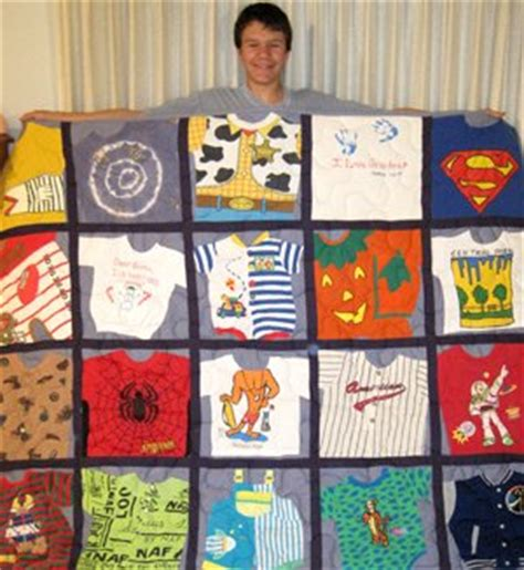 Turn Baby Clothes Into Quilt by Turn Your Child S Baby Clothes Into A Family Heirloom