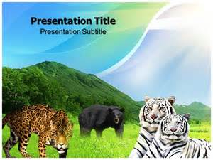 Powerpoint Templates Animals by Animals And Pets Powerpoint Template