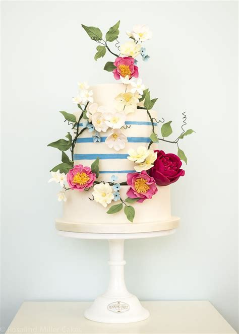 25  best ideas about Striped cake on Pinterest   Stripe