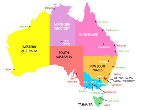 map of australia with capital cities map of australia capital cities all world maps