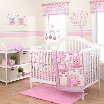 owl nursery bedding sets buy owl themed crib bedding from bed bath beyond