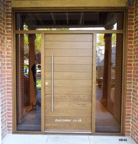 Contemporary Oak Front Doors Oak Doors By Jonathan Elwell News