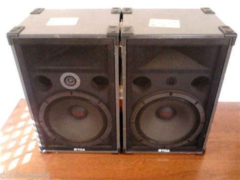 Loud Speaker Toa toa 380se loud speakers band dj type 1 pair