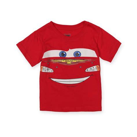 Tshirt Cars disney cars toddler boy s graphic t shirt lightning mcqueen