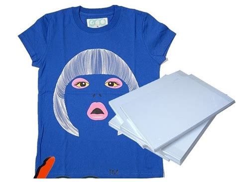 inkjet iron on tshirt transfer paper aliexpress com buy dark color a3 t shirt transfer paper