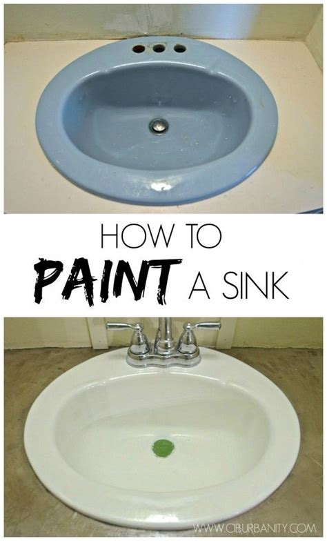 how to paint a bathroom sink 17 best ideas about painting bathroom sinks on pinterest
