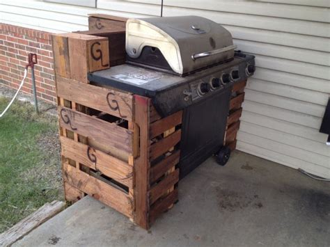 Build A Dollhouse From Scratch Build A Wood Grill Surround Backyard Grill Cover