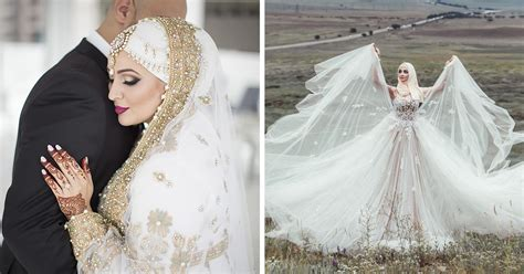 Muslim Wedding Dress by 10 Traditional Islamic Wedding Dresses