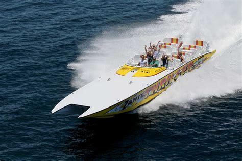 thriller boat ride miami thriller miami speedboat adventures sightseeing tours