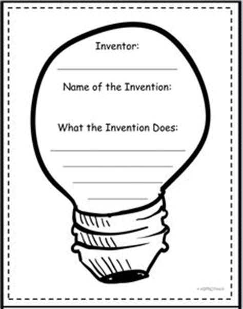 inventor biography graphic organizer 1000 images about school thomas edison on pinterest