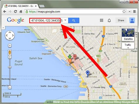 Find Using Address How To Find The Gps Coordinates Of An Address Using Maps