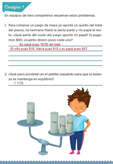 libro de 6 de matemticas contestado libro de mate de sexto grado contestado paco el chato