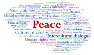 Essay On World Peace And Nonviolence In by Culture Of Peace And Non Violence