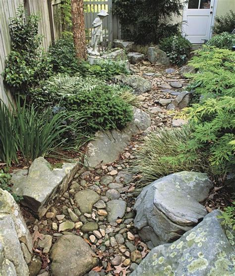backyard dry creek bed dry creek garden for the side yard dry creek beds