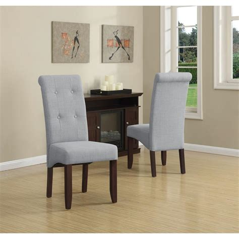 Grey Parsons Chair - homesullivan whitmire camel linen parsons dining chair