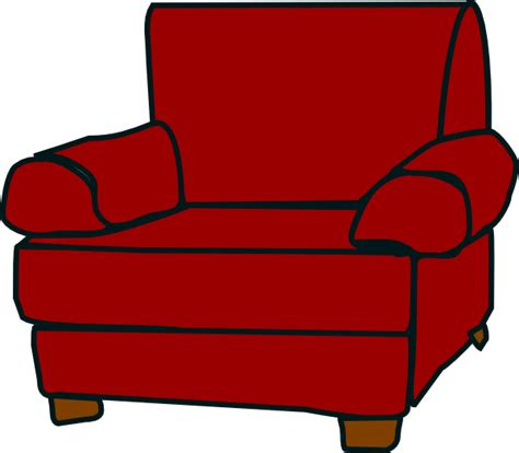 armchair clipart crimson red armchair clip art at clker com vector clip