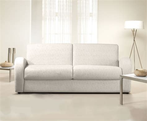 sofa bed pull out supra cream faux leather sofa bed