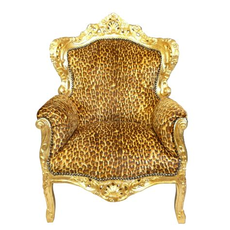 armchair baroque baroque leopard chairs and furniture