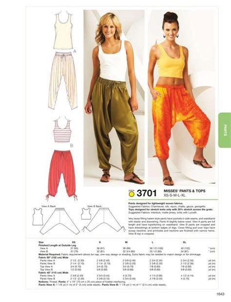 pattern review kwik sew 3601 kwik sew 3701 pants tops