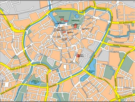 breda netherlands map breda city map